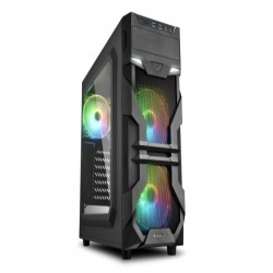 Case Sharkoon VG7 - W RGB Black 3fan