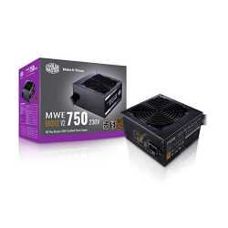 Power Cooler master MWE 750 Bronze V2 Full range (750W, 80 Plus)