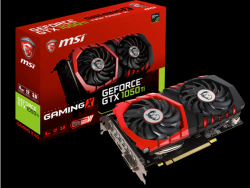 Vga Card MSI GTX 1050Ti GAMING X 4G