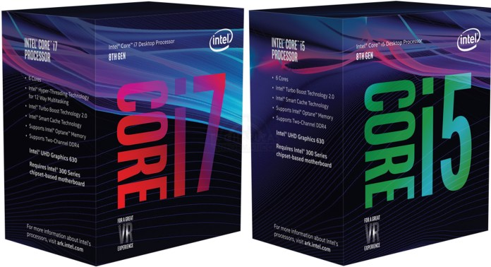 CPU Intel Core i5-8400 (2.8GHz up to 4.0GHz/ 6C6T/ 9MB/ 1151v2/Coffee Lake)